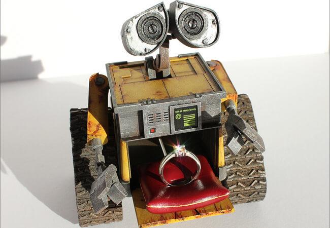 Коробочка для кольца Wall-E