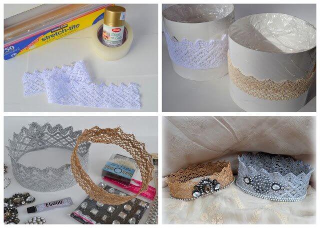 корона для невесты идеи для свадьбы своими руками украшения