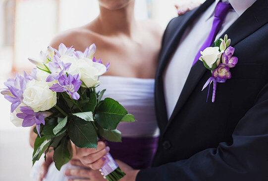 бутоньерка на свадьбу жених