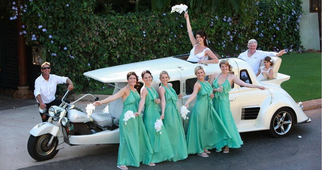 необычные автомобили на свадьбу необычные красивые
