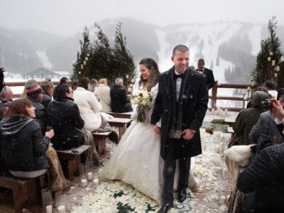 8 теплых советов для зимней свадьбы