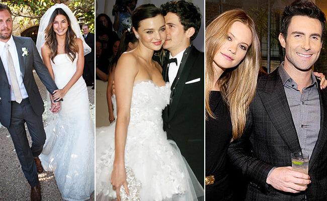 Известные парни, которые женились на моделях. Пятерка женихов.
