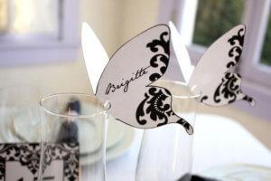 декор на стаканы для гостей своими руками на свадьбу украшения