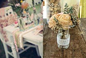вазочки для столов гостей своими руками