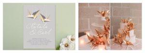 Журавлики на свадьбу своими руками