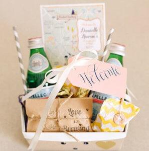 корзинка для гостей идеальная свадьба 21 совет по организации