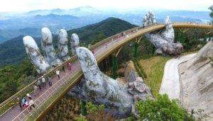 золотой мост, Вьетнам, экзотические блюда, жареный крокодил, пляжи