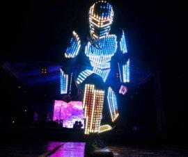 лазерное шоу, световое шоу в Казахстане, в Алматы, в Астане