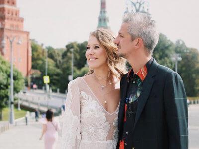 Свадьба Ксении Собчак и Константина Богомолова, свадьба Собчак, свадьба пятница 13